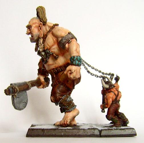 peinture pour un geant warhammer