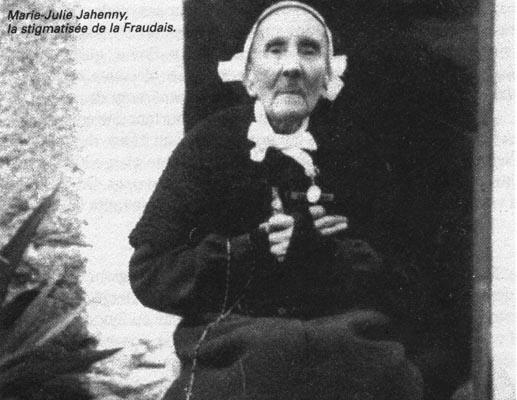 La Stigmatisée   Marie Julie Jahenny   ( La fraudais ) Stigmatisee